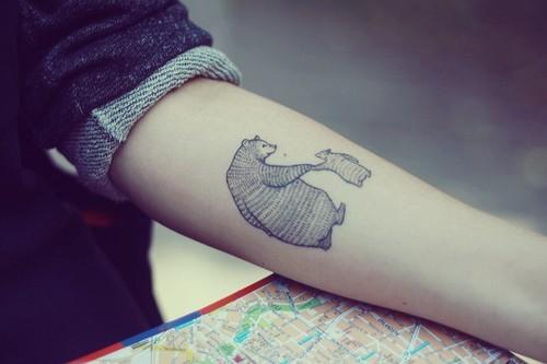 Bear Tattoo - INSPIRATION