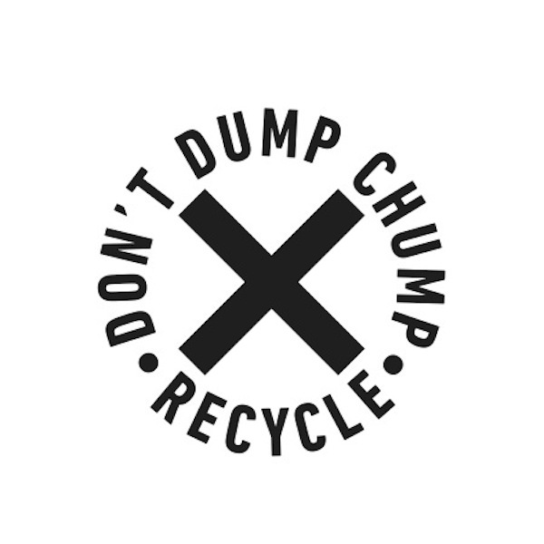 4f20046f734 Logo Recycle - Don t Dump Chump - INSPIRATION