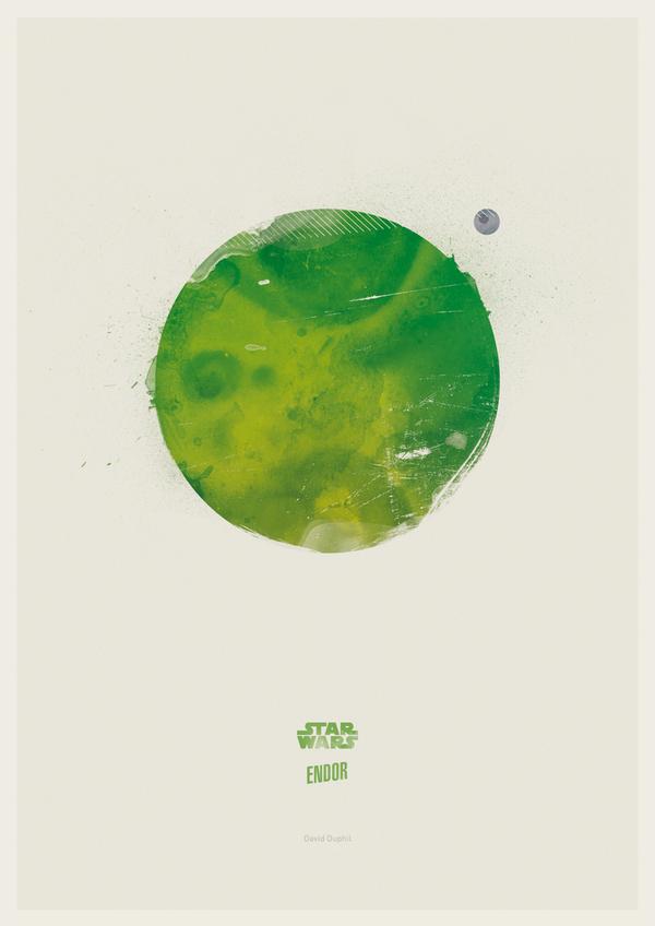 Minimalist Star Wars - INSPIRATION