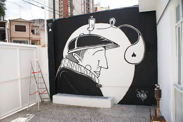 B&W Street Art - INSPIRATION